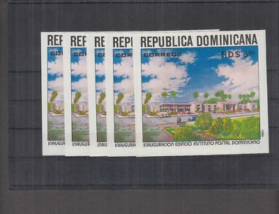 I68. 5x Dominica - MNH - Architecture - Imperf