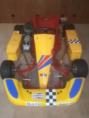 Vintage Kart (PRD 100cc Engine and DAP Chassis)