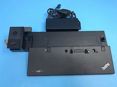 Lenovo ThinkPad Docking Station Type 40a ,90w power supply, 2 Keys fru:00hm917