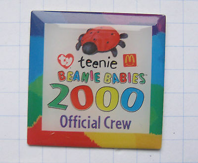 TY TEENIE BEANIE BABIES / OFFICIAL CREW   ...... Mc Donald´s-Pin (118c)