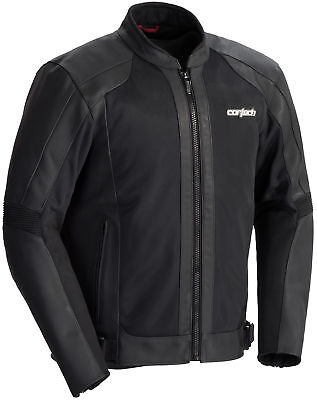 Cortech Piuma Leather Jacket Powersports Motorcycle