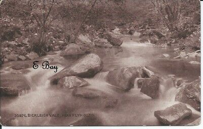 A vintage postcard of Bickleigh Vale near Plymouth