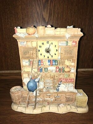 Border Fine Arts Brambly Hedge The Store Stump Clock Bh 100