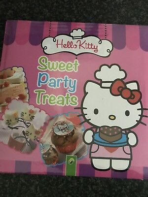 Hello Kitty Sweet Party Treats Cook Book New Sealed Present