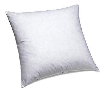 ComfyDown Set of Two, 95 Feather 5 Down, 16 X 16 Square Decorative Pillow New