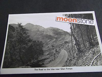 Old Postcard Of The Road To The Isles Near Glen Finnan, Scotland