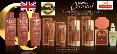 AUTHENTIC QEI+ Paris Oriental Intense Hydrating Toning Lightening with Argan oil