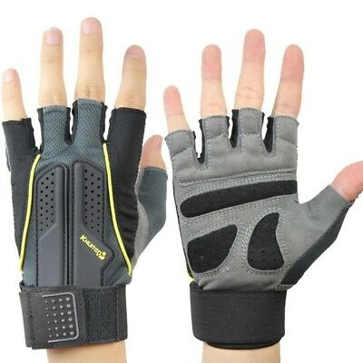 (#2, Medium) - Fitness Gloves Men And Women Semi-finger Sports Gloves Work Out