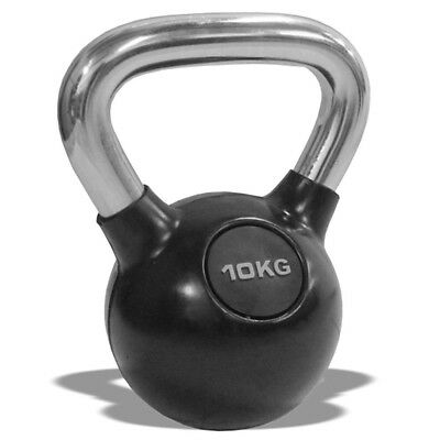 (12kg) - Valour Fitness Chrome Kettle Bell. Valor Fitness. Delivery is Free