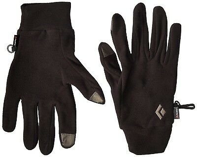 (Large) - BLACK DIAMOND LIGHTWEIGHT FLEECE GLOVES POLARTEC. Huge Saving