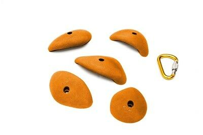 ETCH Jugs Set B Climbing Hold, Orange. Delivery is Free