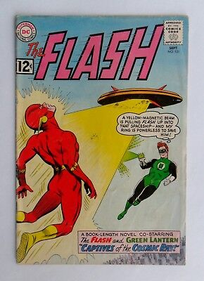 DC comics - The Flash No 131 - (VG- condition) - Sept. 1962 - Green Lantern