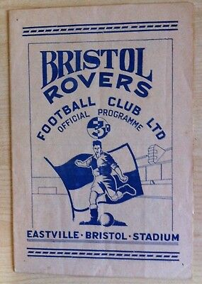 Bristol Rovers v Norwich City - Division 3 South - 29th September 1951