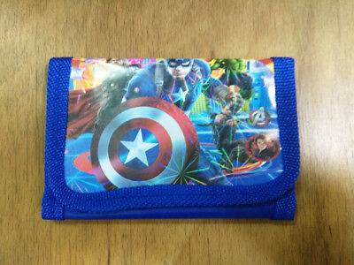 Movie Figure Marvel's The avengers Coin Money Pouch Bag Purse Wallet Kids Gift a