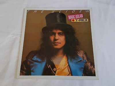 Marc Bolan And T. Rex   Uk Lp.  The Slider.  1989. Reissue.  Marcl 503.  A1-B1