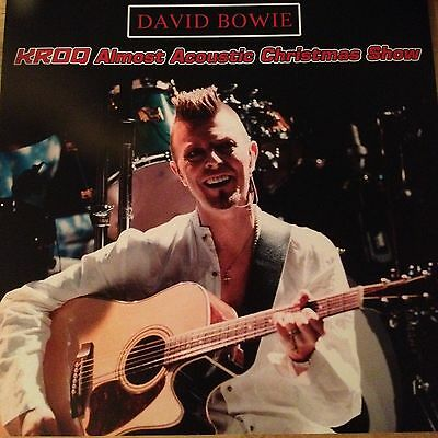 David Bowie - Rare Limited Edition Numbered Vinyl Lp Acoustic Christmas Show 97