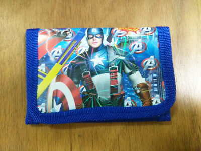 Movie Figure Marvel's The avengers Coin Money Pouch Bag Purse Wallet Kids Gift