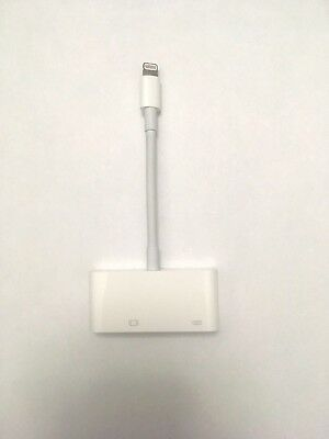 GENUINE Apple Lightning to VGA Adapter model MD825AM/A A1439 New Open box