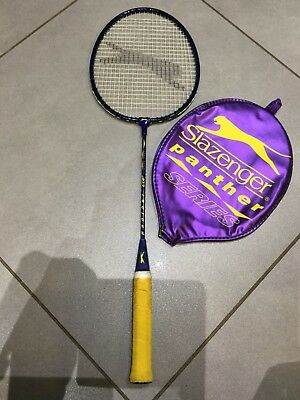 Slazenger Panther series and Yonex B-550 badminton rackets in great condition!