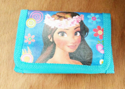 Kids Moana Coin Money Pouch Bags Purse Wallet Xmas Gift  Birthday gifts Blue 1
