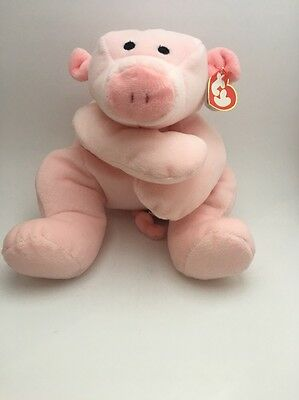 Ty Beanie Baby Pillow Pal Retired Oink Plush Toy NWT