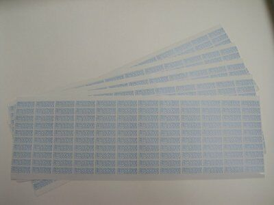 720 pcs Warranty void if damaged security stickers size: 0.75 inch x 0.25 inch