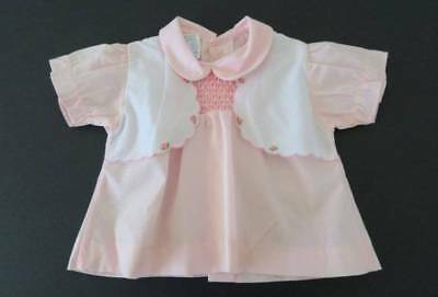 Vintage Cross Mates Baby Girl Dress - Size 0