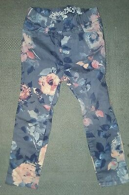 Authentic BabyGAP Toddler Girl Stretch Jeans (Size 3T) Floral
