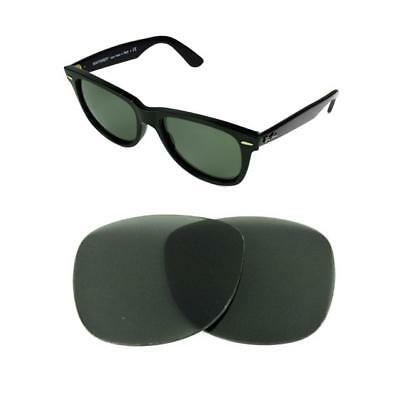 481c004cc74e2 NEW POLARIZED REPLACEMENT G15 LENS FOR RAY BAN WAYFARER 2140 54mm SUNGLASSES