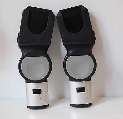 Black iCandy Apple Pear Upper Maxi Cosi Cabriofix BeSafe Izi Car Seat Adapters