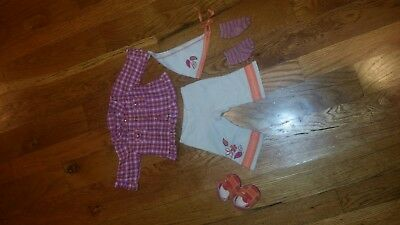American Girl Bitty Baby Lot Of Clothes