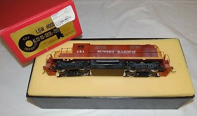 Key Imports Painted Brass HO Alco RS-32 Diesel Engine Private Railroad Name