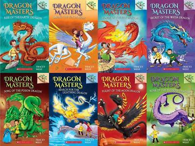 Scholastic Branches DRAGON MASTERS Fantasy Series by Tracey West Paperbacks 1-8