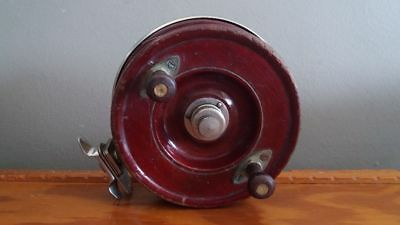 Vintage Alvey 600 a1 7  timber fishing reel