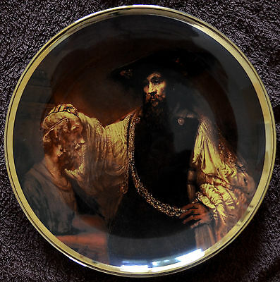 Lord Nelson Pottery Decorative plate, Rembrandt, 26cm