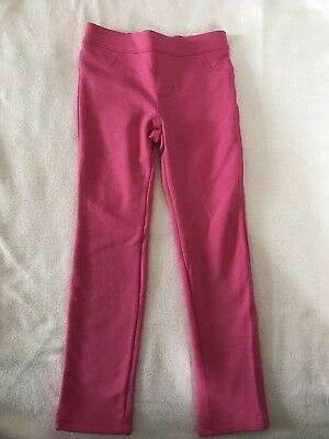 Gymboree Girls Pink Ponte Pants Size 5T Pull on Skinny NEW  MSRP $29 NWT