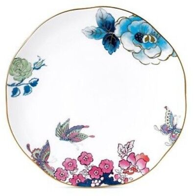 "New  - Wedgwood Butterfly Bloom Bone China 8"" Salad Plate"