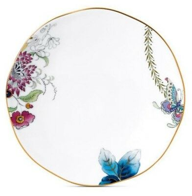 "New  - Wedgwood Butterfly Bloom Bone China  6.25"" Appetizer  Plate"