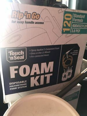 New Touch n' Seal Spray Foam Roof Insulation Kit 3.0 PCF Closed Cell Foam 120 BF