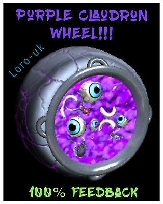 NEW! Instant Delivery! Purple Painted Cloudron - Rocket League Xbox One