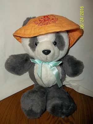 1980s Avon Chinese PANDA World of Wonderful Bears Plush 12""