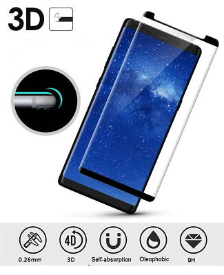 3D Curved Fit Case Friendly Glass Screen Protector for Samsung Galaxy Note 8