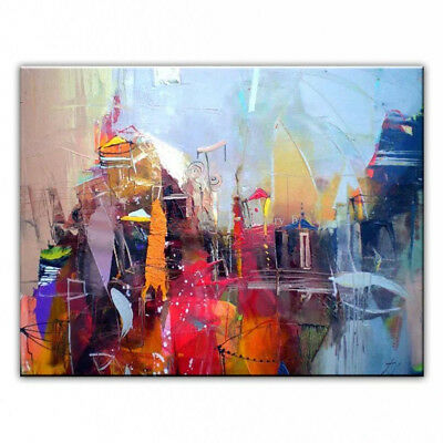 Modern Abstract Hand-painted Oil Painting Fashion Canvas Home Decor Art Wall
