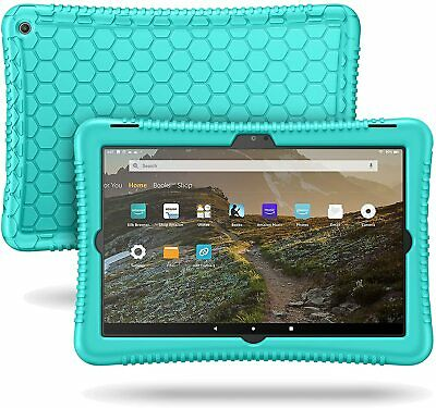 Soft Silicone Case Cover for Amazon Fire 7 / HD 8 / HD 10 Tablet 2015 2016 2017