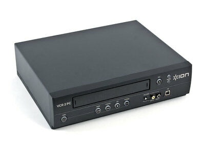 Ion Video 2 PC ION Audio VCR 2 PC USB VHS Video to Computer Converter NEW FREEsh