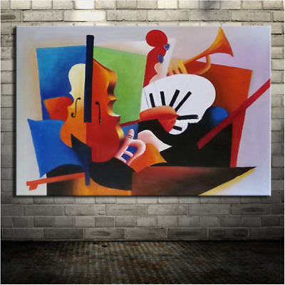 Modern Fashion Abstract Hand-painted Oil Painting Home Decor Art Wall On Canvas