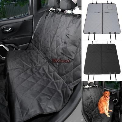 Waterproof Backseat Dog Seat Cover For Car Suv Pet Protect Cover Hammock Mat ET