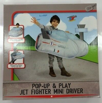 Pop Up & Play Jet Fighter And Mini  Driver