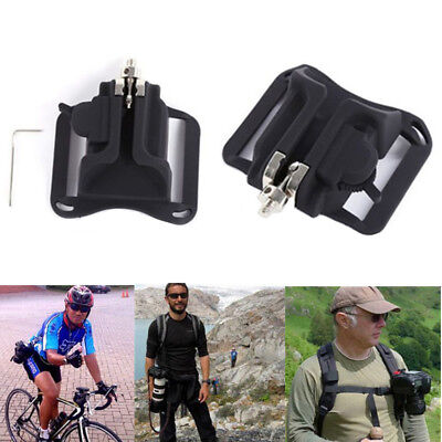 Small Quick Release Waist Belt Buckle Strap Hanger Holder for ALL DSLR Camera