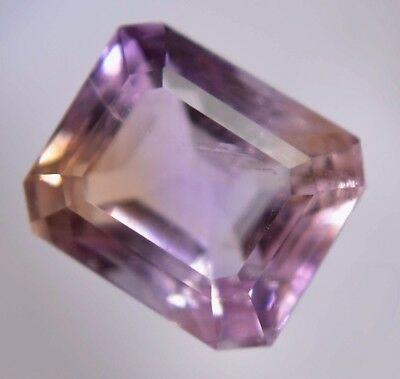 VVS Clean 6.80 Ct AGSL Certified Natural Untreated Yellow & Purple Ametrine Gem